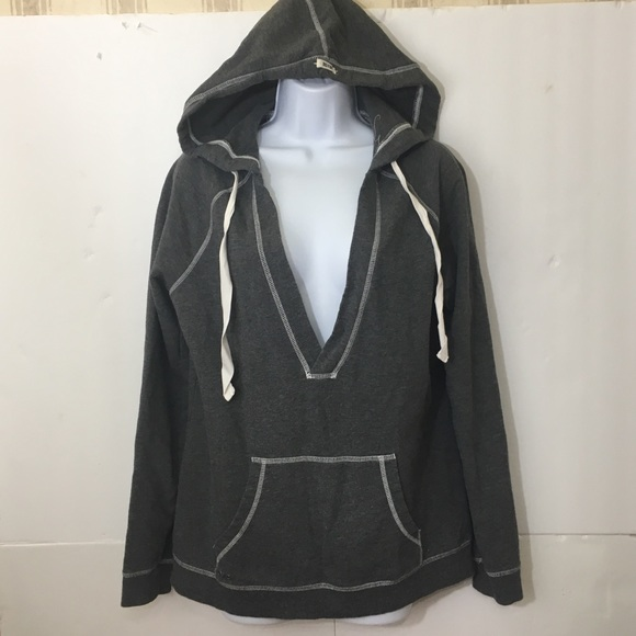 2a0e62a4a3fd Converse Tops - Converse One Star Pullover Hoodie Gray Size Large